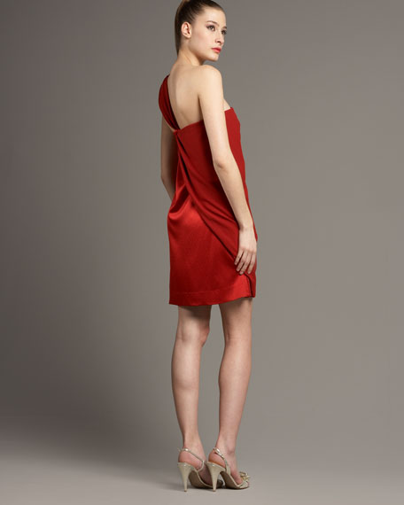 Red Valetta Dress