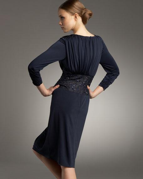 Twist-Front Dress