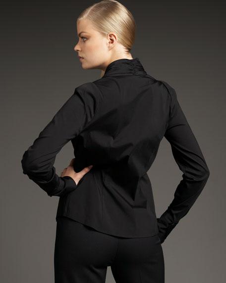 Camilla Tie-Front Blouse