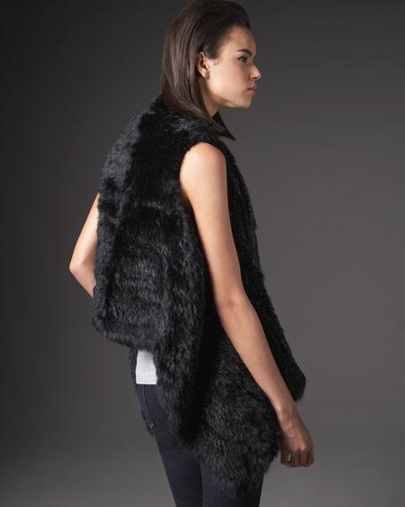 Rock My World Long Fur Vest