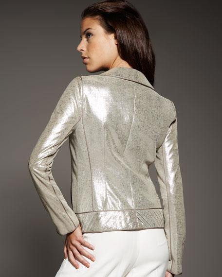 Leather Technique Jacket