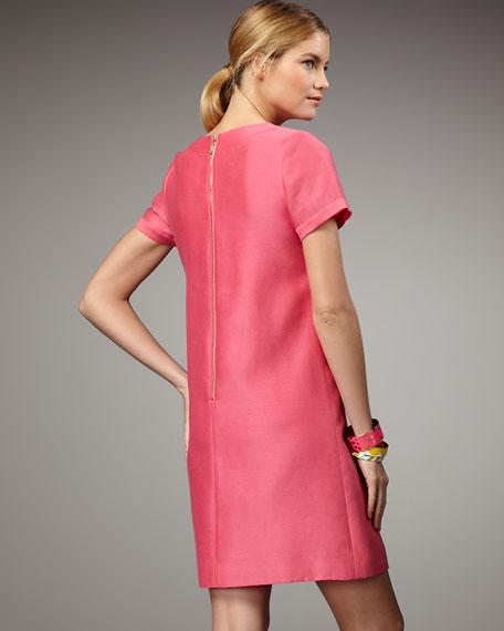 kate spade cady short-sleeve shift dress