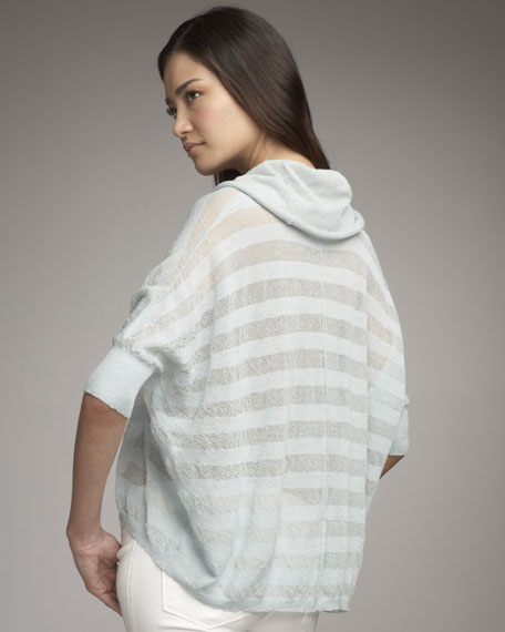Shadow-Stripe Pullover