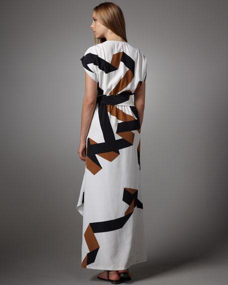 Ethyl Printed Maxi Dress