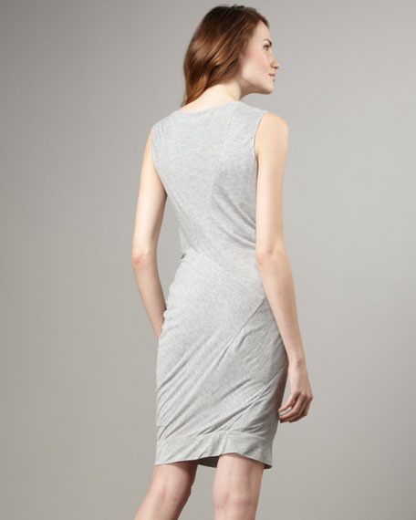 Alastrina Twist-Front Jersey Dress