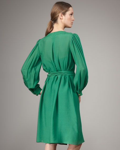 Aniya Pleated Dress