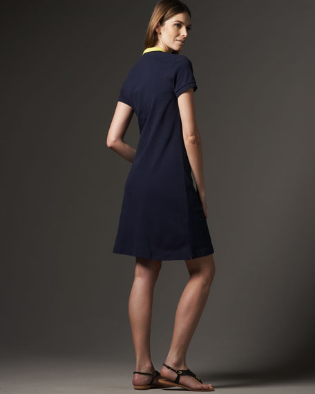 Stretch Polo Dress