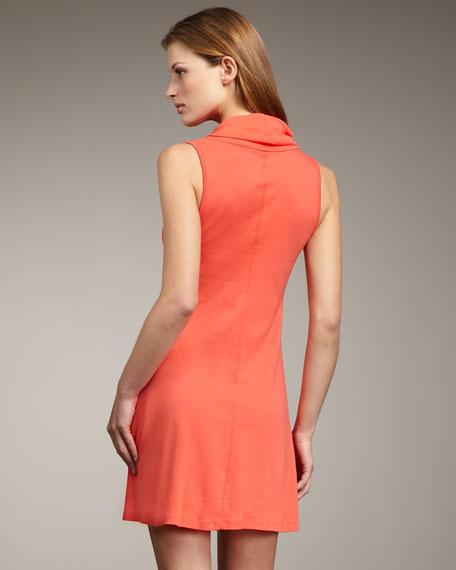 Summer Brites Cowl-Neck Dress