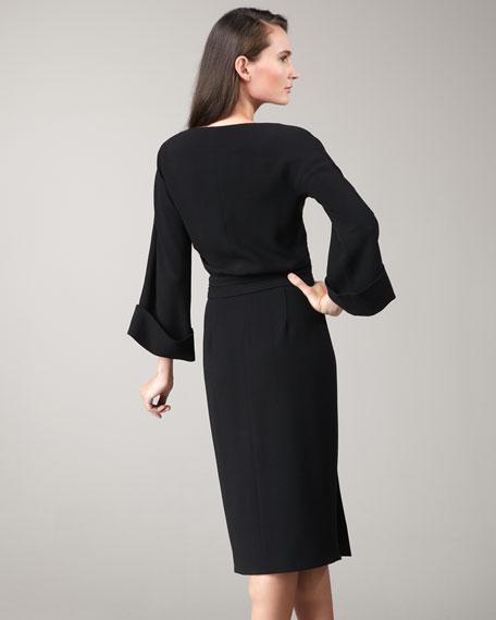 Fold-Waist Dress