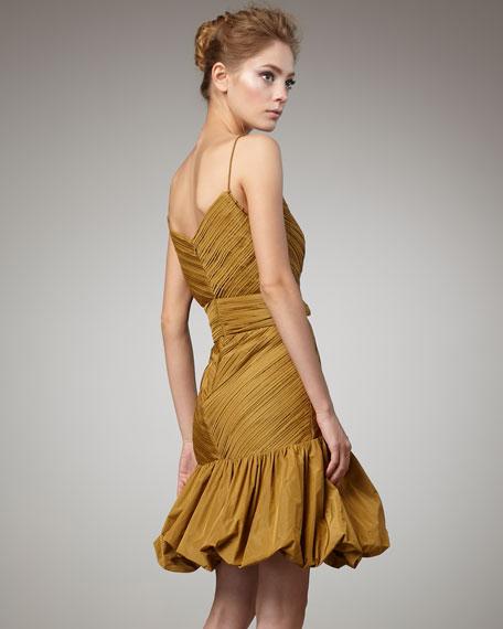 Rihanna Dress, Gold