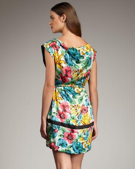 Havana Floral-Print Dress