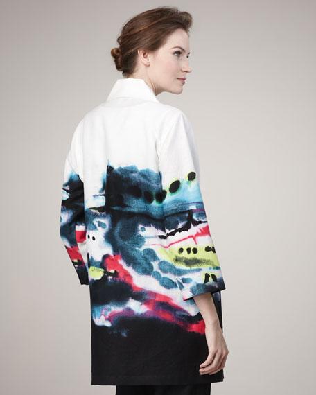Splash-Print Jacket