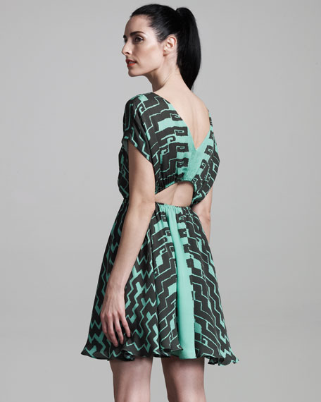 Numa Silk Dress