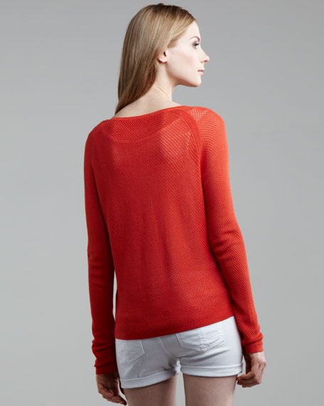 Long-Sleeve Beach Top