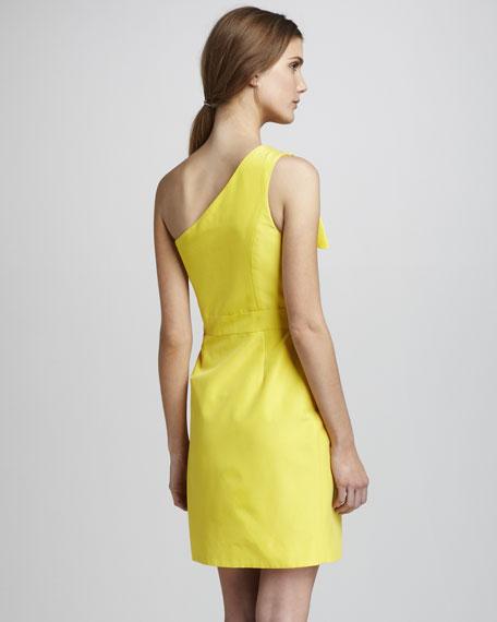 Sadie Ruffled One-Shoulder Dress