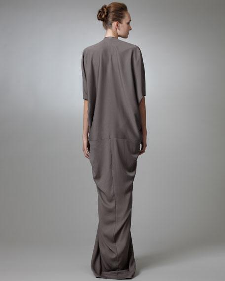 Three-Quarter-Sleeve Kite Gown
