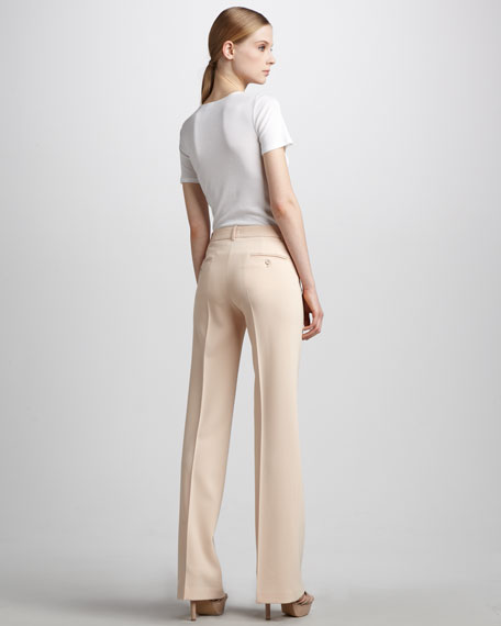 Agyness Crepe Pants