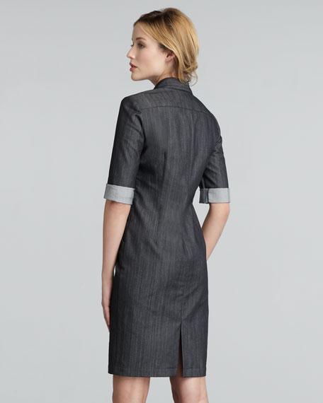 Nissa Lace-Up Dress, Women's