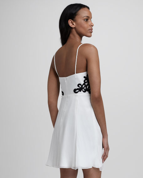 Side-Lace Cocktail Dress