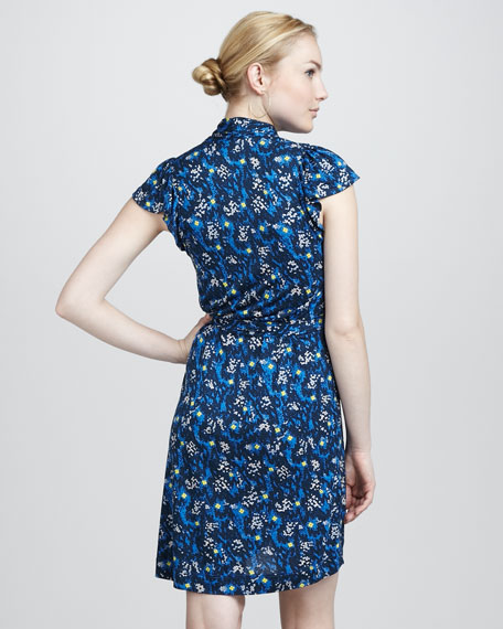Electric Meadow Jersey Dress