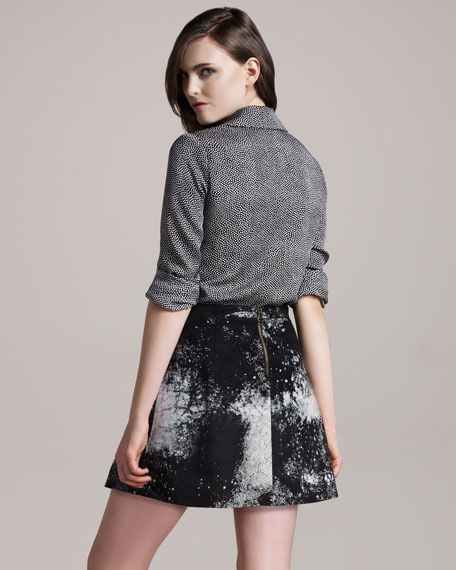 Swagger Leather Skirt
