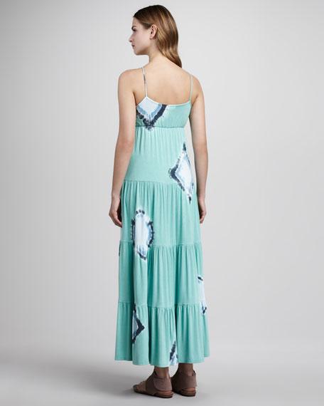 Tiered Tie-Dye Maxi Dress