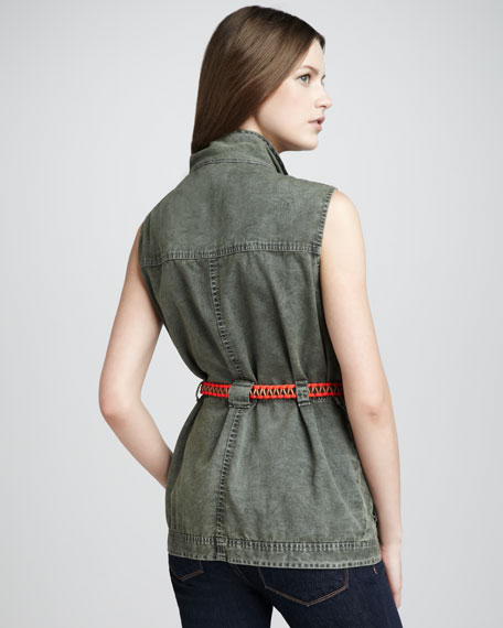 Redford Sleeveless Jacket