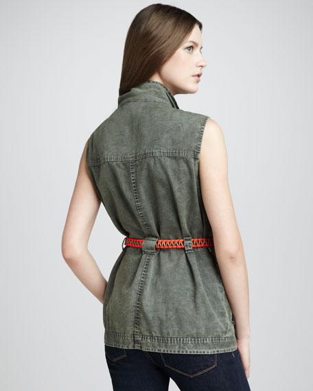 Redford Sleeveless Jacket