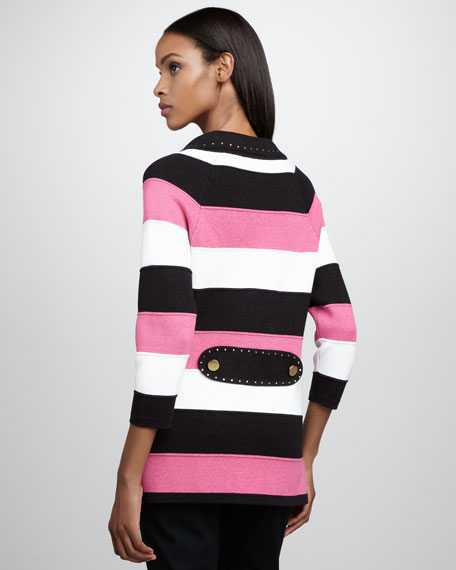 Petite Carnivale Striped Jacket
