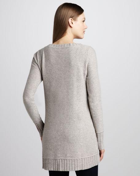 Long-Sleeve V-Neck Tunic