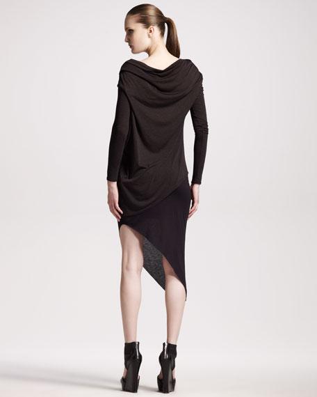 Kinetic Jersey Angle Skirt