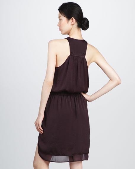 Satin Racerback Dress