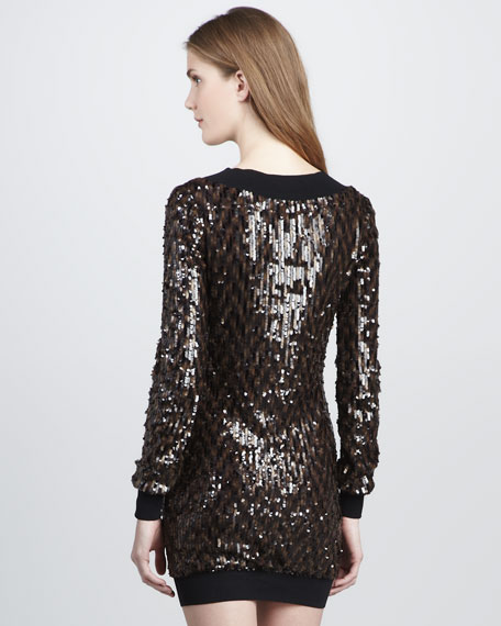 Lucille Sequined Dress