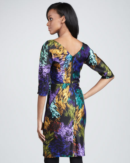 Delaney Printed Dress