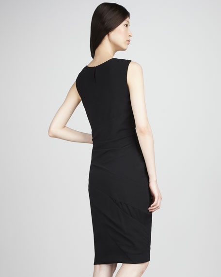 Sleeveless Wrapped Dress
