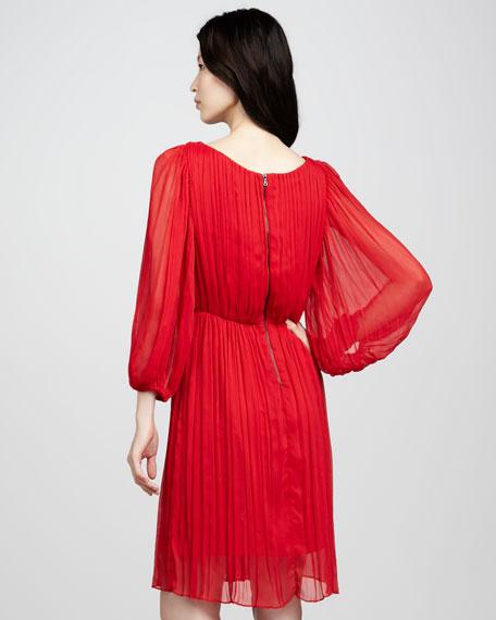 Fern Pleated Dress