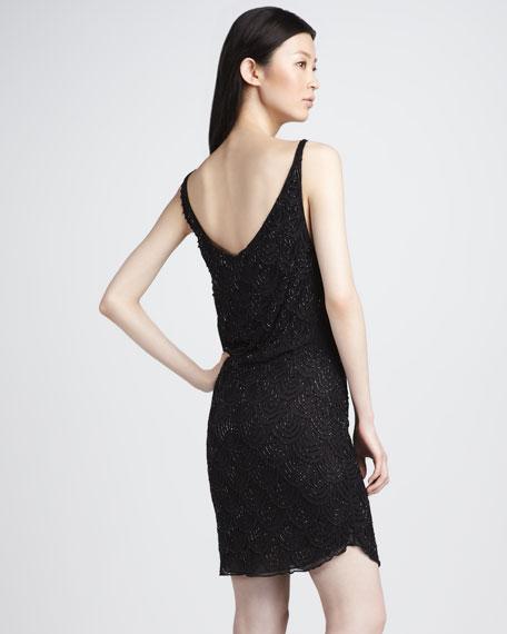 Gabby Sequined Tank Dress