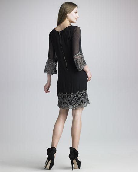 Liat Bell-Sleeve Dress