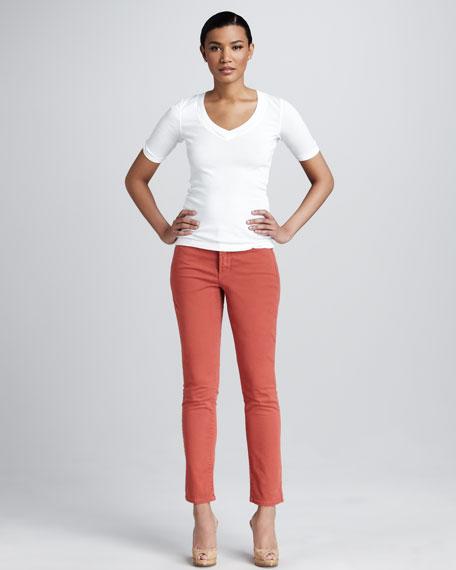 Sherri Cropped Skinny Jeans, Petite