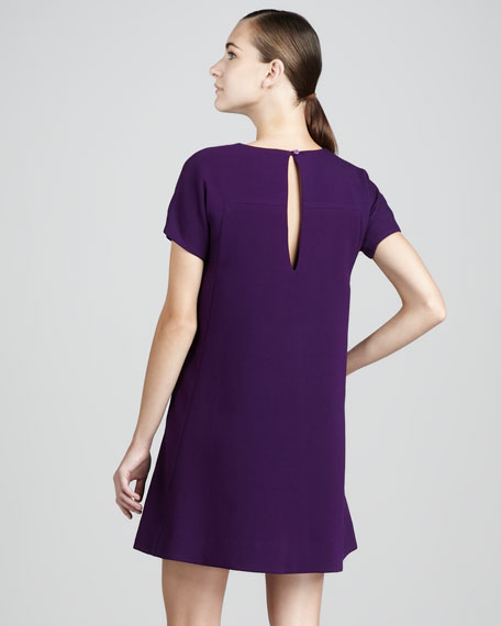 bosley short-sleeve dress