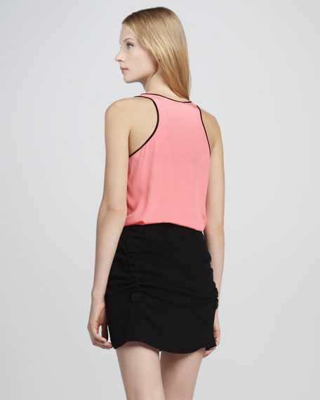 Loranne Two-Tone Tank Dress