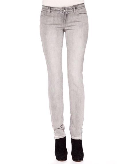 Exclusive Zipper-Cuff Jeans