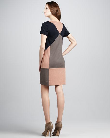 Caroline Colorblock Knit Dress