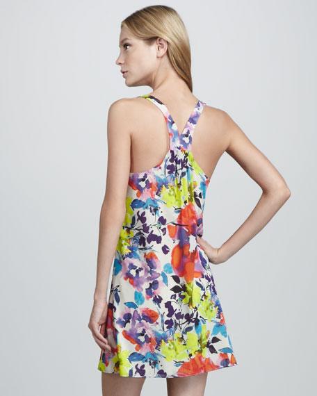 Haylen Floral-Print Dress