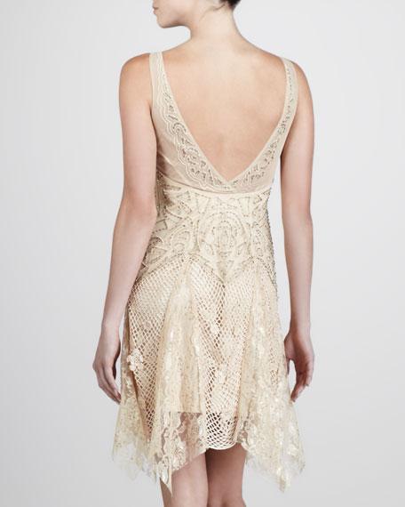 Lace-Net Cocktail Dress