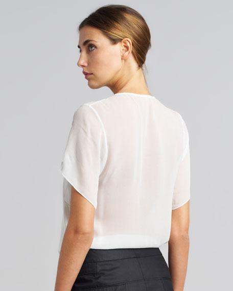 Vena Slouchy Panel T-Shirt