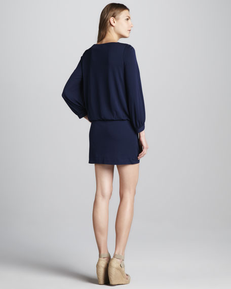 Carmela Jersey Blouson Dress