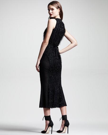 Fringed Contour Dress