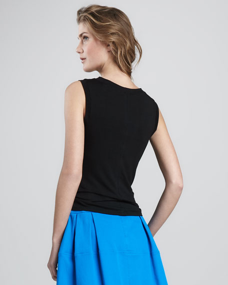 Arena Shirred-Front Top