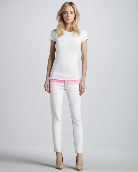 Krista Cropped Slim Jeans